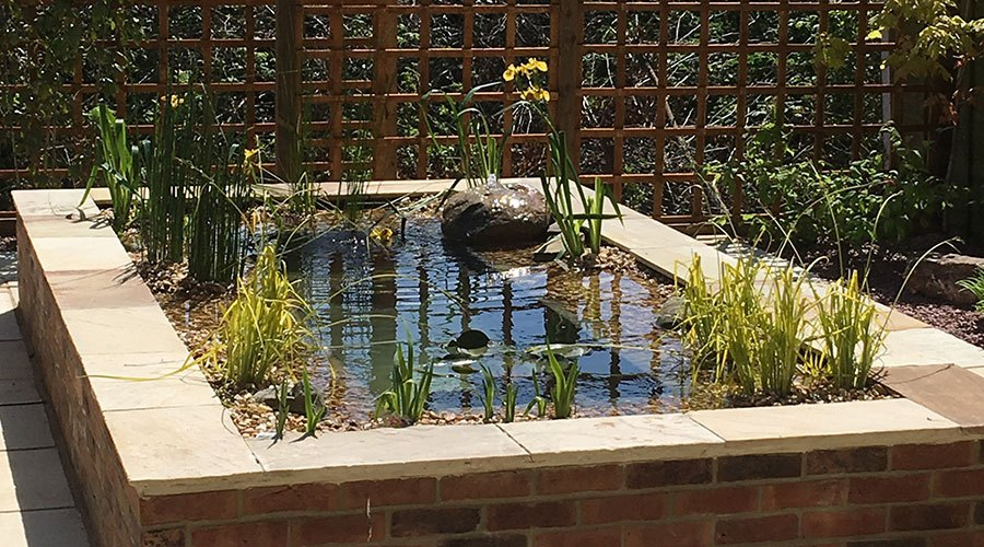 Courtyard Garden Pond