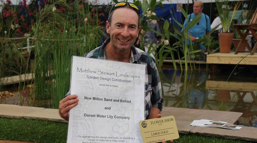 Matthew Stewart Award Winning Landscaper