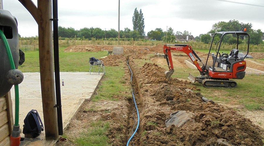 Natural Pond Build Wimborne