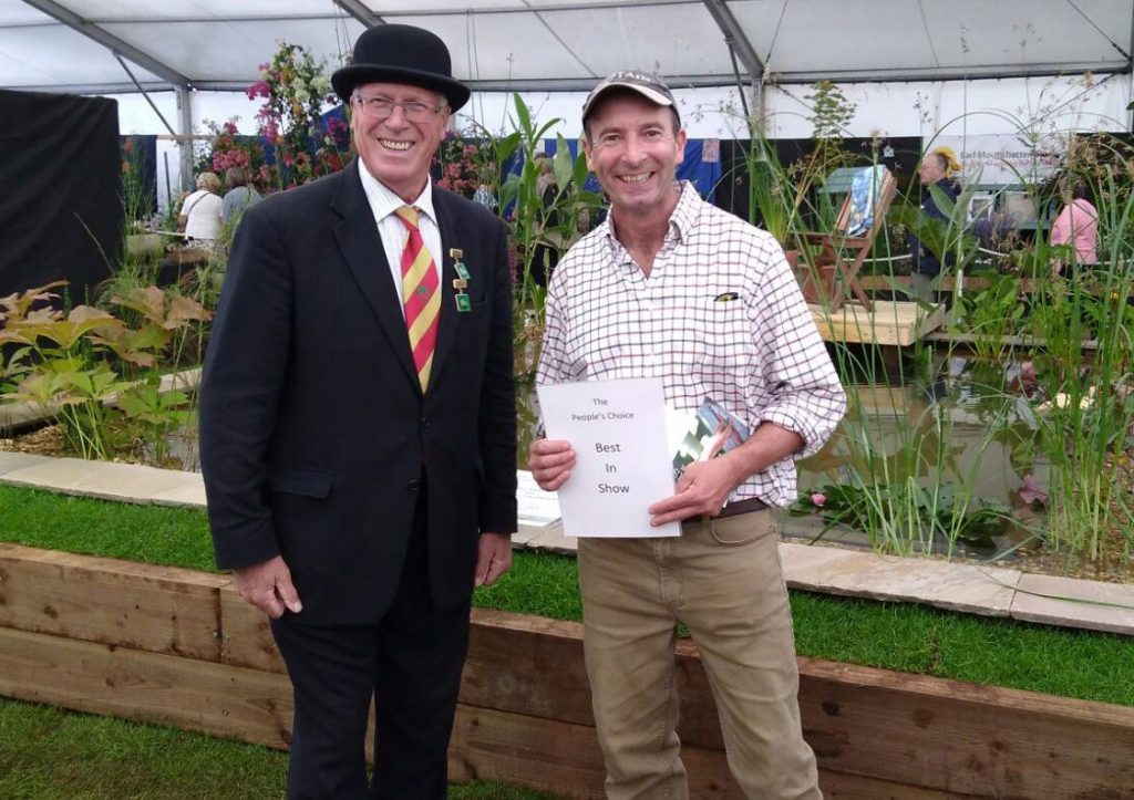 Matthew Stewart at New Forest Show Awards