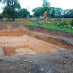 Excavation begins at Yew Tree Farm
