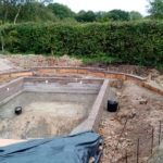 Footings At Whitmore Cottage